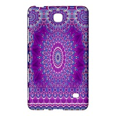 India Ornaments Mandala Pillar Blue Violet Samsung Galaxy Tab 4 (8 ) Hardshell Case