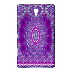 India Ornaments Mandala Pillar Blue Violet Samsung Galaxy Tab S (8.4 ) Hardshell Case