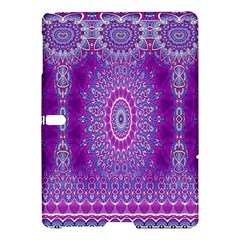 India Ornaments Mandala Pillar Blue Violet Samsung Galaxy Tab S (10.5 ) Hardshell Case