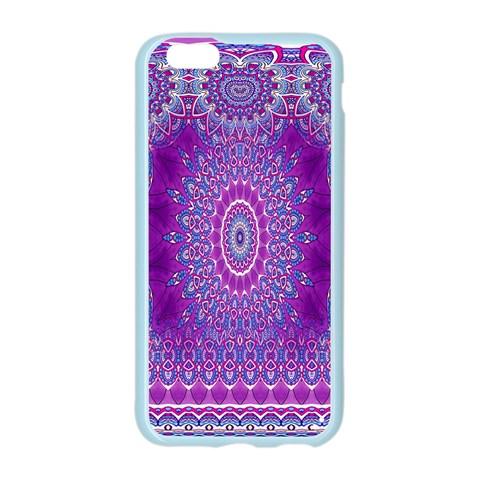 India Ornaments Mandala Pillar Blue Violet Apple Seamless iPhone 6/6S Case (Color)