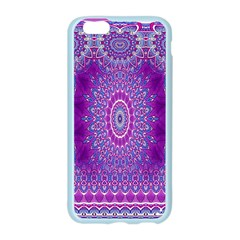 India Ornaments Mandala Pillar Blue Violet Apple Seamless iPhone 6/6S Case (Color)