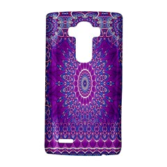 India Ornaments Mandala Pillar Blue Violet LG G4 Hardshell Case
