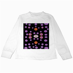 Alphabet Shirtjhjervbret (2)fvgbgnhlluuii Kids Long Sleeve T-Shirts