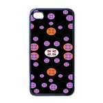 Alphabet Shirtjhjervbret (2)fvgbgnhlluuii Apple iPhone 4 Case (Black) Front
