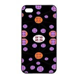 Alphabet Shirtjhjervbret (2)fvgbgnhlluuii Apple iPhone 4/4s Seamless Case (Black) Front