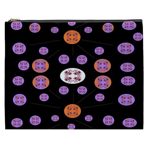Alphabet Shirtjhjervbret (2)fvgbgnhlluuii Cosmetic Bag (XXXL)