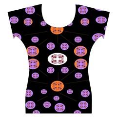 Alphabet Shirtjhjervbret (2)fvgbgnhlluuii Women s Cap Sleeve Top
