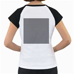 Sports Racing Chess Squares Black White Women s Cap Sleeve T Back