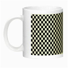 Sports Racing Chess Squares Black White Night Luminous Mugs