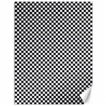 Sports Racing Chess Squares Black White Canvas 36  x 48   48 x36 Canvas - 1