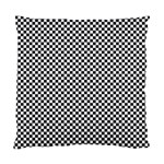 Sports Racing Chess Squares Black White Standard Cushion Case (Two Sides) Back