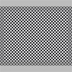 Sports Racing Chess Squares Black White Canvas 14  x 11  14  x 11  x 0.875  Stretched Canvas