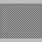 Sports Racing Chess Squares Black White Canvas 20  x 16  20  x 16  x 0.875  Stretched Canvas