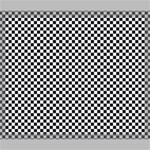 Sports Racing Chess Squares Black White Canvas 24  x 20  24  x 20  x 0.875  Stretched Canvas