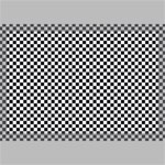 Sports Racing Chess Squares Black White Canvas 18  x 12  18  x 12  x 0.875  Stretched Canvas