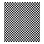 Sports Racing Chess Squares Black White Shower Curtain 66  x 72  (Large)  58.75 x64.8 Curtain