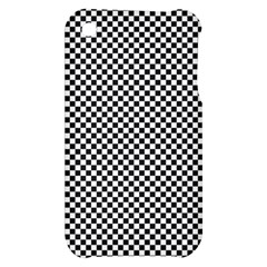 Sports Racing Chess Squares Black White Apple iPhone 3G/3GS Hardshell Case