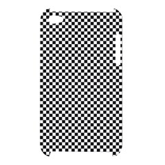 Sports Racing Chess Squares Black White Apple iPod Touch 4