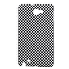 Sports Racing Chess Squares Black White Samsung Galaxy Note 1 Hardshell Case