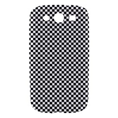 Sports Racing Chess Squares Black White Samsung Galaxy S III Hardshell Case