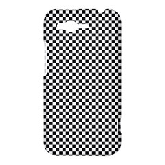 Sports Racing Chess Squares Black White HTC Rhyme