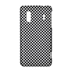 Sports Racing Chess Squares Black White HTC Evo Design 4G/ Hero S Hardshell Case