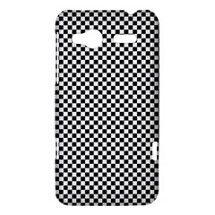 Sports Racing Chess Squares Black White HTC Radar Hardshell Case