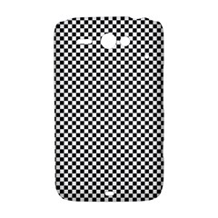Sports Racing Chess Squares Black White HTC ChaCha / HTC Status Hardshell Case