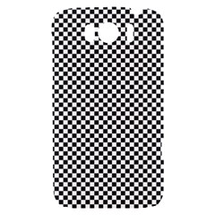 Sports Racing Chess Squares Black White HTC Sensation XL Hardshell Case