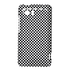 Sports Racing Chess Squares Black White HTC Vivid / Raider 4G Hardshell Case