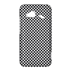 Sports Racing Chess Squares Black White HTC Droid Incredible 4G LTE Hardshell Case