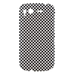 Sports Racing Chess Squares Black White HTC Desire S Hardshell Case