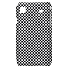 Sports Racing Chess Squares Black White Samsung Galaxy S i9000 Hardshell Case