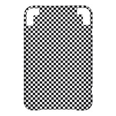 Sports Racing Chess Squares Black White Kindle 3 Keyboard 3G