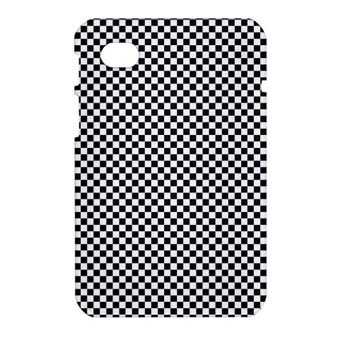 Sports Racing Chess Squares Black White Samsung Galaxy Tab 7  P1000 Hardshell Case