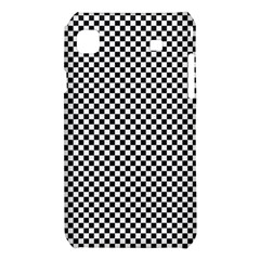Sports Racing Chess Squares Black White Samsung Galaxy S i9008 Hardshell Case
