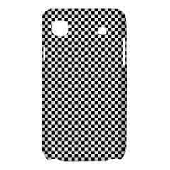 Sports Racing Chess Squares Black White Samsung Galaxy SL i9003 Hardshell Case