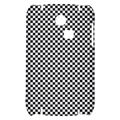 Sports Racing Chess Squares Black White Samsung S3350 Hardshell Case