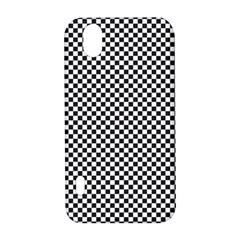 Sports Racing Chess Squares Black White LG Optimus P970