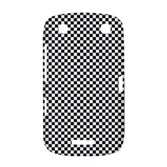 Sports Racing Chess Squares Black White BlackBerry Curve 9380