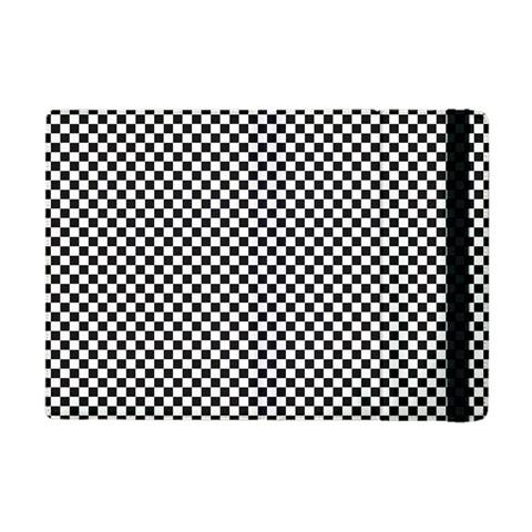 Sports Racing Chess Squares Black White Apple iPad Mini Flip Case