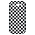 Sports Racing Chess Squares Black White Samsung Galaxy S3 S III Classic Hardshell Back Case Front
