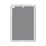 Sports Racing Chess Squares Black White iPad Mini 2 Enamel Coated Cases Front