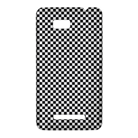 Sports Racing Chess Squares Black White HTC One SU T528W Hardshell Case