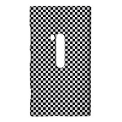 Sports Racing Chess Squares Black White Nokia Lumia 920