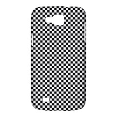 Sports Racing Chess Squares Black White Samsung Galaxy Premier I9260 Hardshell Case