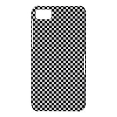Sports Racing Chess Squares Black White BlackBerry Z10