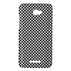 Sports Racing Chess Squares Black White HTC Butterfly X920E Hardshell Case