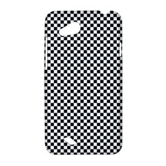 Sports Racing Chess Squares Black White HTC Desire VC (T328D) Hardshell Case