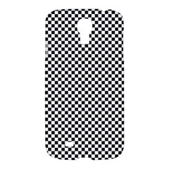 Sports Racing Chess Squares Black White Samsung Galaxy S4 I9500/i9505 Hardshell Case